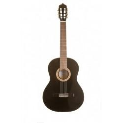 Classic guitar LA MANCHA Glacial Black Metallic (GLACIAL-BLACK)