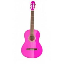 Classic guitar LA MANCHA Glacial Pink Metallic (GLACIAL-PINK)