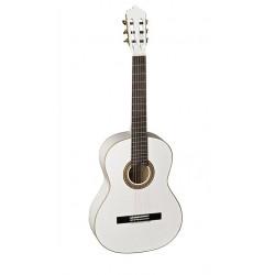 Classic guitar LA MANCHA Glacial White Metallic (GLACIAL-WHITE)